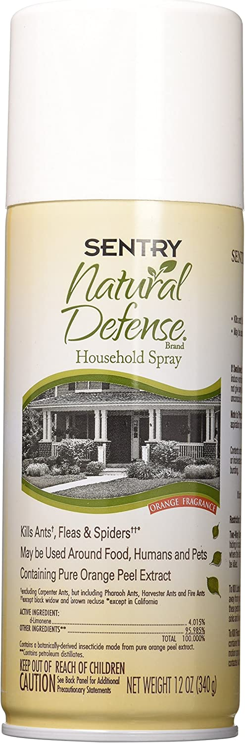 SENTRY Natural Defense Household Spray, 12 oz