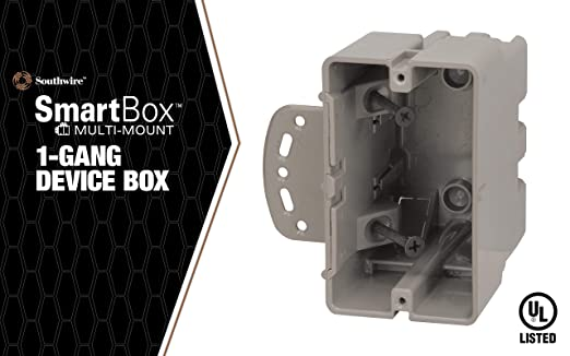 Heavy Duty 42lb 2 Set Madison Electric Products MSB3G Three Gang Device Box with Depth Adjustable
