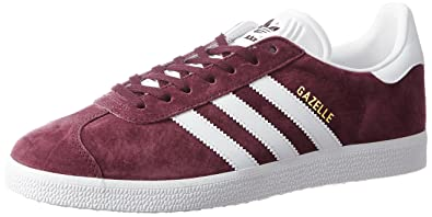 cheap for discount 7243d 1c324 adidas Gazelle, Chaussures de Gymnastique Homme, (MaroonftwwhtGoldmt),