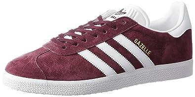 premium selection cac40 214d7 adidas Herren Gazelle Gymnastikschuhe, Braun (MaroonftwwhtGoldmt), 36 EU