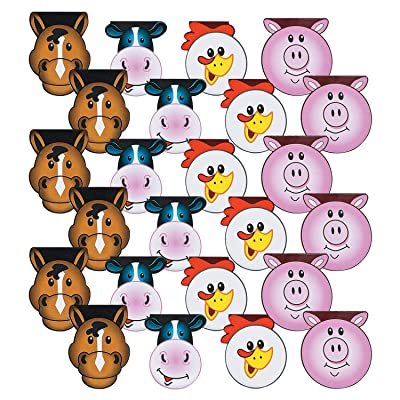 Fun Express Farm Party Paper Notepads | 24 Count | Children's School Activities, Birthday Party Favors & Prizes, Good Bags, Art Activities: Toys & Games