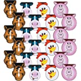 Fun Express Farm Party Paper Notepads   24 Count   Children's School Activities, Birthday Party Favors & Prizes, Good…