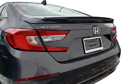 Rear Window Roof Spoiler Cuztom Tuning Fits for 2018-2019 Toyota Camry JDM Style Painted Glossy Black Trunk Lid