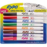 Amazon.com: EXPO 1884309 Low-Odor Dry Erase Markers, Ultra