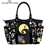 Disney Tim Burton's The Nightmare Before Christmas Polyester Twill Tote Bag by The Bradford Exchange