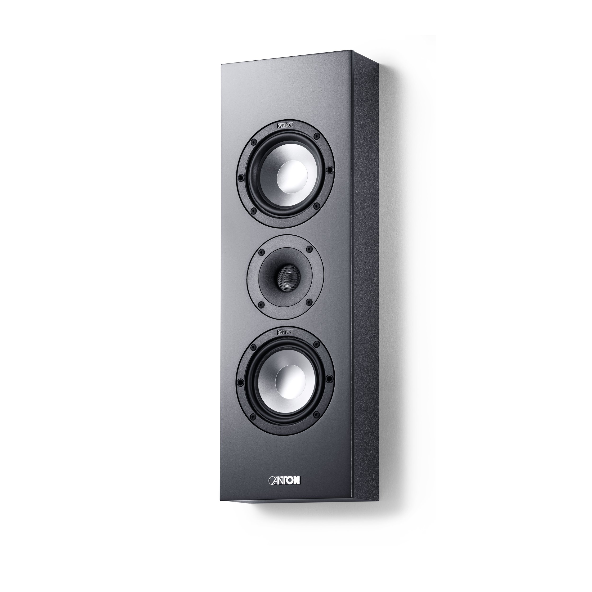 GLE 417.2 5'' 2-Way On-Wall LCR Speaker Each (Black) by Canton