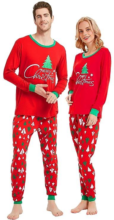 Amazon.com: Conjunto de regalo de Pajamas a juego para la ...