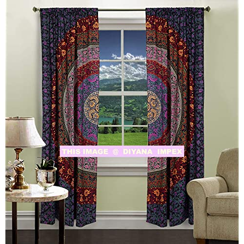 Tapestry Room Divider Curtains: Amazon.com