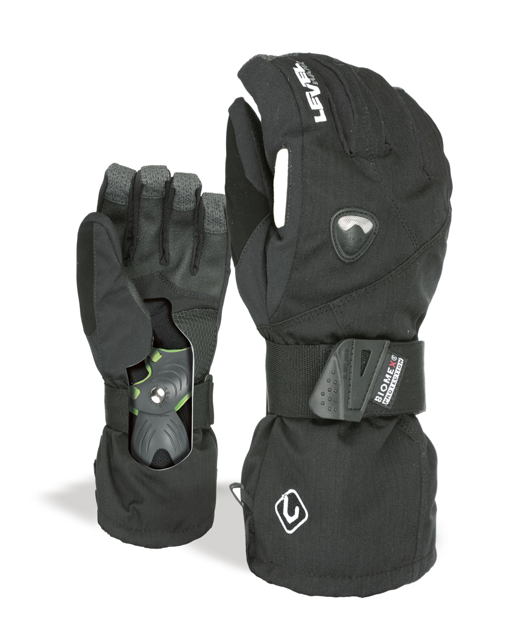 Level Men's Fly Glove, Black, XX-Large