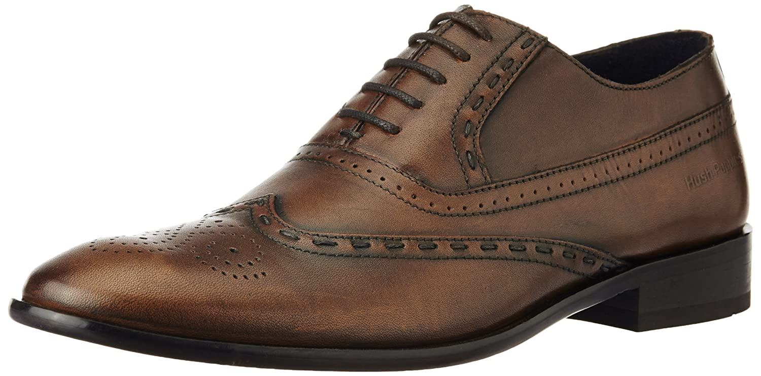 25ea3659a925f Hush Puppies Men's Ysla Brown Leather Formal Shoes - 9 UK/India (43 EU):  Buy Online at Low Prices in India - Amazon.in