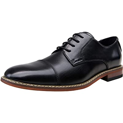 VOSTEY Men's Oxford Classic Business Derby Formal Dress Shoes for Men | Oxfords