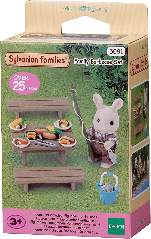 Sylvanian Families - 5091 - Set barbacoa familiar