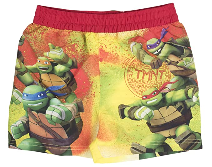 Teenage Mutant Ninja Turtles - Bañador - para niño Rojo ...
