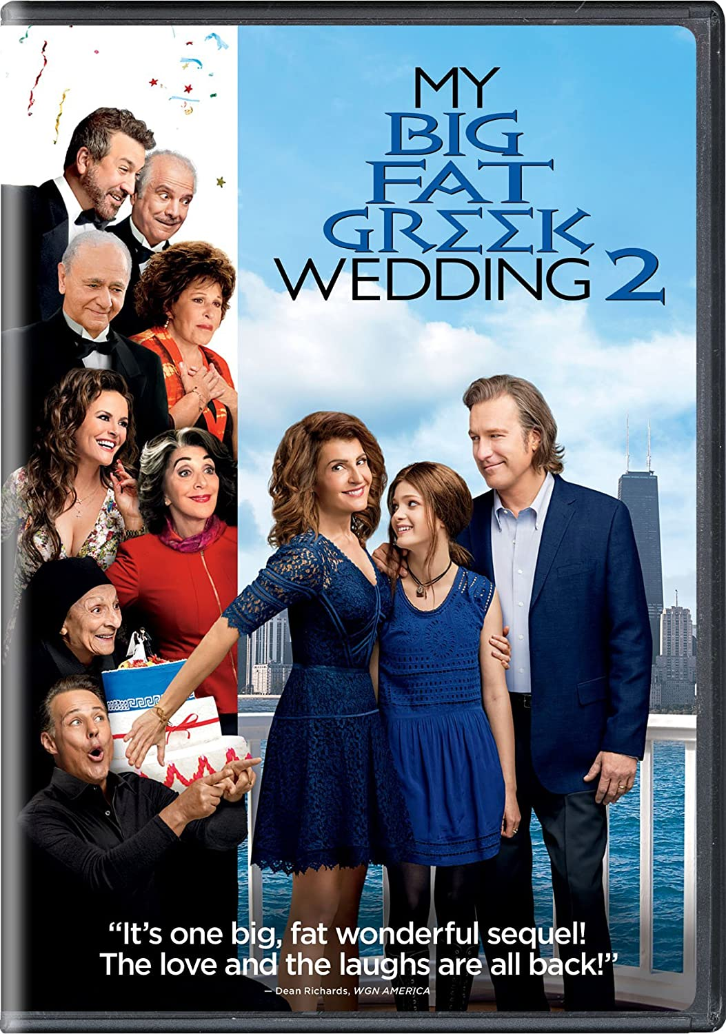 My Big Fat Greek Wedding 2.Amazon Com My Big Fat Greek Wedding 2 Nia Vardalos Kirk
