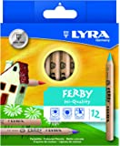 Lyra Ferby Natural in Cardboard Case Unpainted 12 Farbstifte