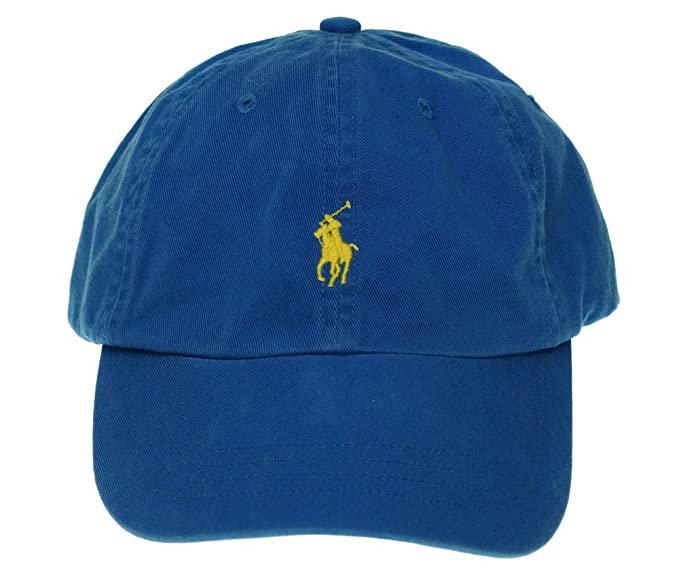 Polo Ralph Lauren Men s Pony Logo Adjustable Hat Cap-BD at Amazon ... 779c8dbfc1a