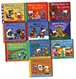 Maisy Mouse First Experiences 10 Books Collection Pack Set By Lucy Cousin (Maisy Goes to Hospital,Maisy Goes on Holiday,Maisy Goes Camping,Maisy Goes to the City,Maisy Christmas Eve,Maisy Goes to Nursery,Maisy Goes to the Museum,Maisy Charley and the wobly Tooth)