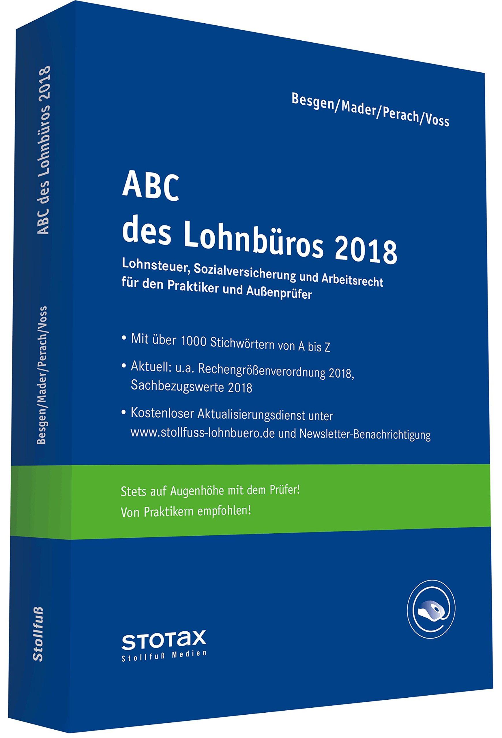 Abc Des Lohnbüros 2018 Lohn Und Gehaltsabrechnung 2018 Von A Z