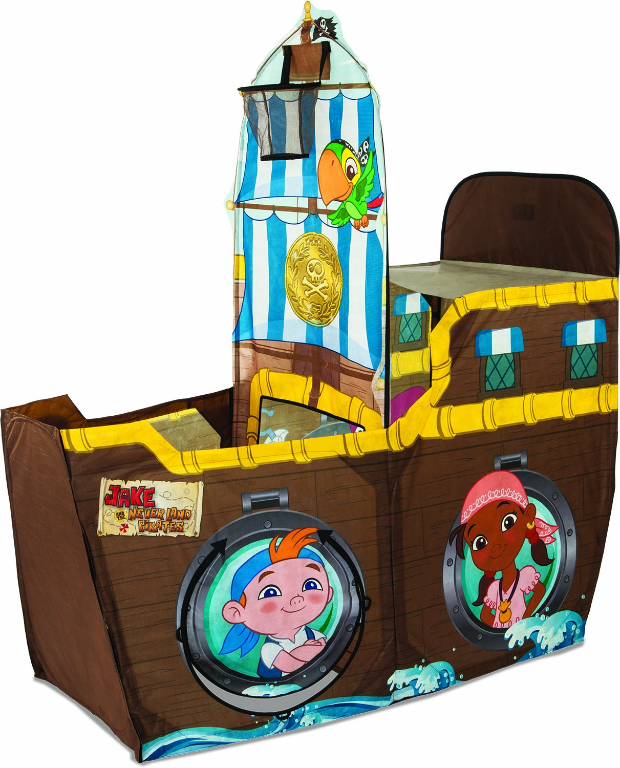 sc 1 st  Amazon.com & Amazon.com: Playhut Heroic Bucky Pirate Ship Tent: Toys u0026 Games
