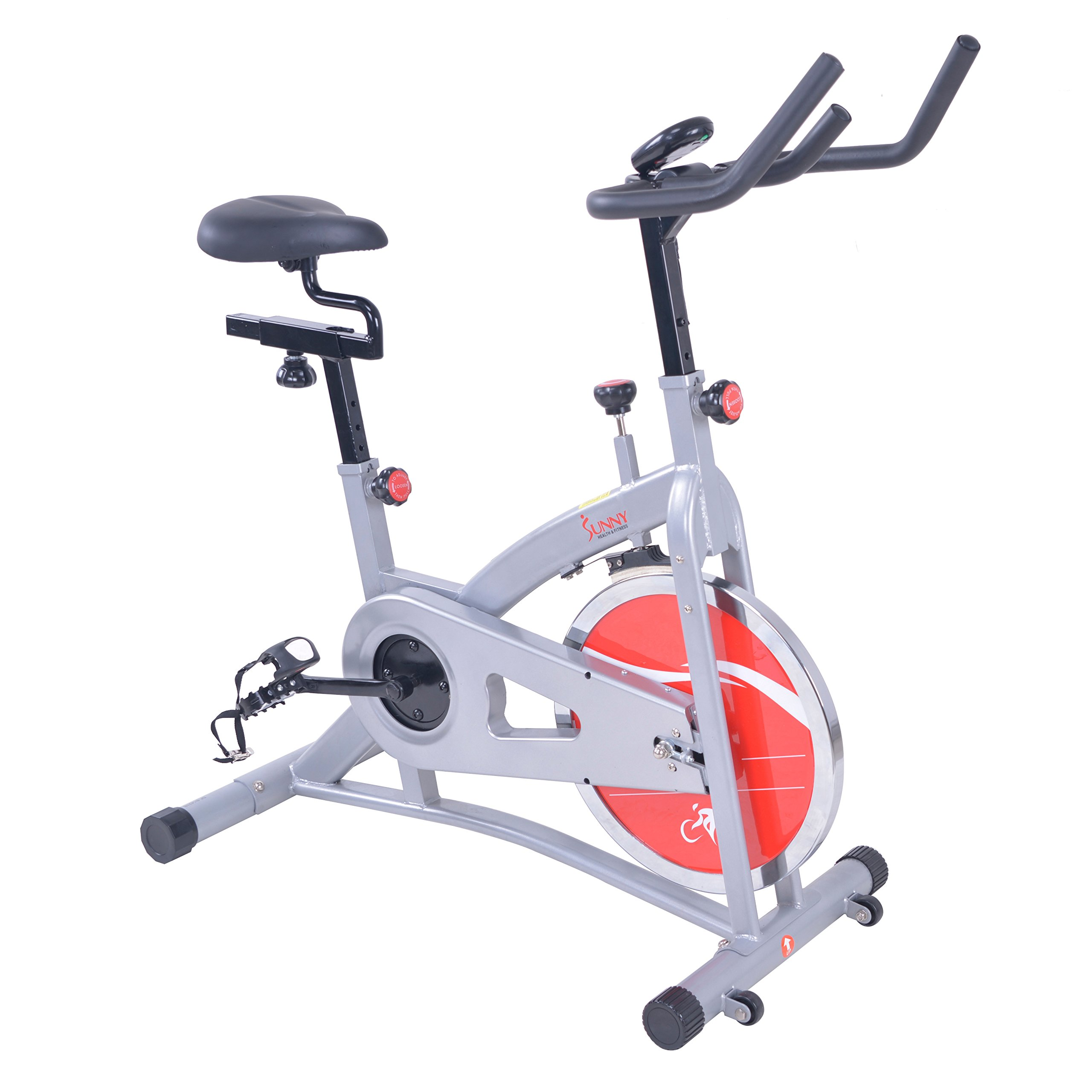 Sunny Health & Fitness SF-B1421B Belt Drive Indoor Cycling Bike by Sunny Health & Fitness