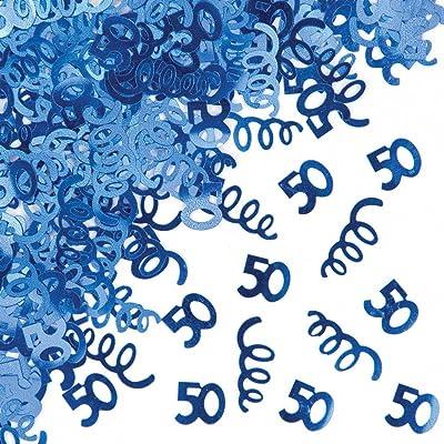Access 50th Birthday Foil Confetti: Toys & Games