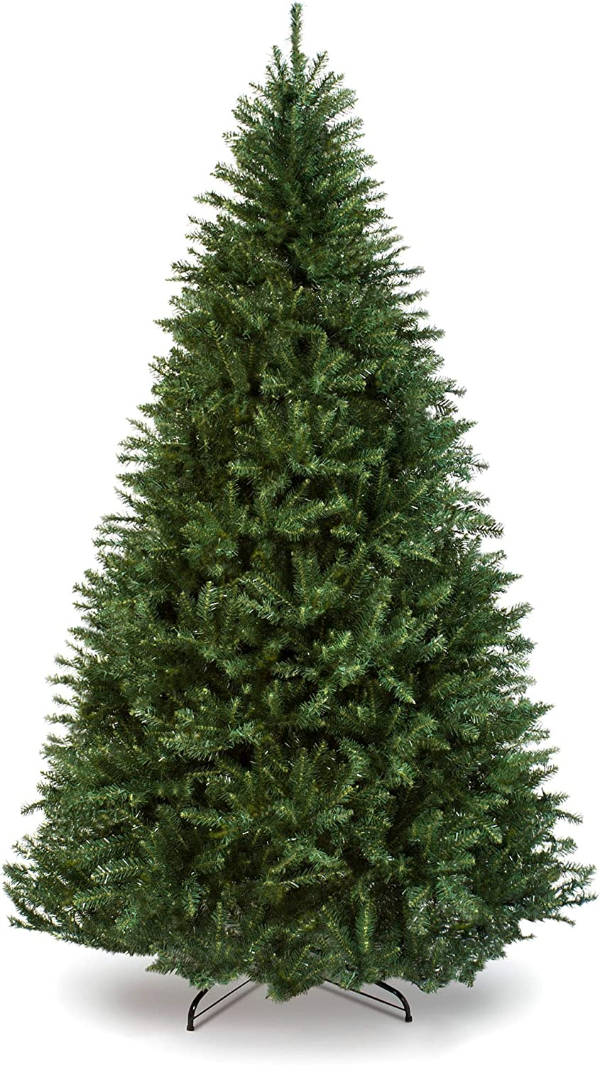 Best Choice Products 6ft Hinged Douglas Full Fir Artificial Christmas Tree Holiday Decoration w/ 1,355 Branch Tips, Easy Assembly, Foldable Metal Stand, Green