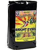 Bright Eyed Medium Dark Roast Whole Bean Coffee from Nectar of Life - Full Body. Thick & Rich. Central & South American Coffee. Best Organic Coffee USDA Organic Coffee Fair Trade Certified 10oz Bag