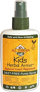product image for All Terrain Kids Herbal Armor Natural DEET-FREE Insect Repellant, Pump Spray