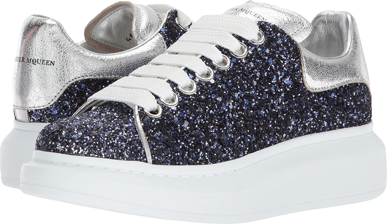 Amazon.com | Alexander McQueen Womens Oversized Sneaker ...