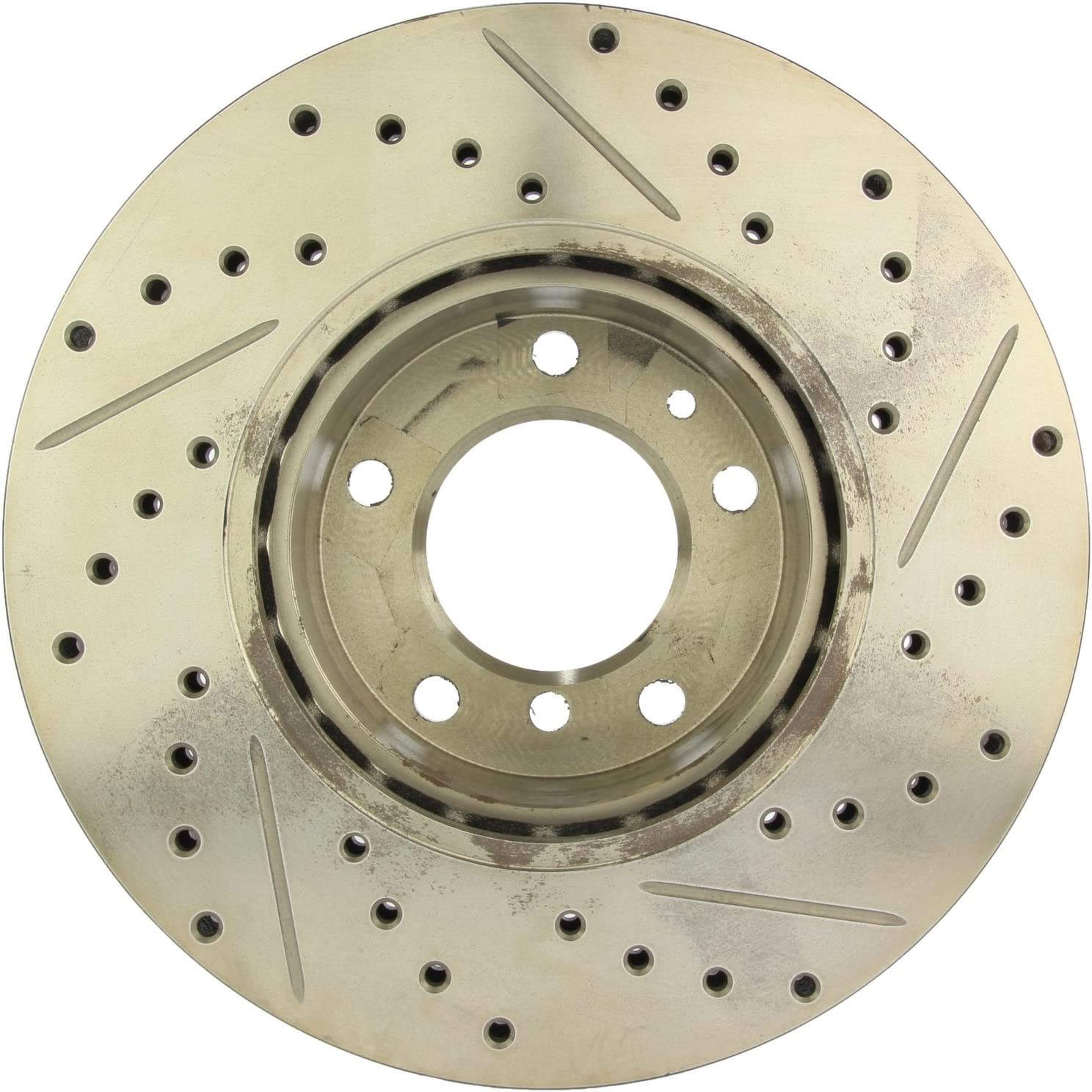 StopTech 127.34124R Sport Drilled//Slotted Brake Rotor Front Right 1 Pack