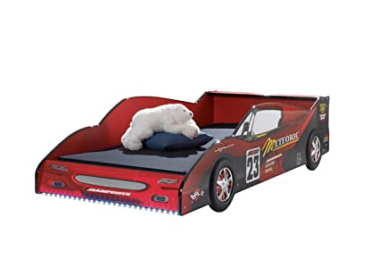 Stella Trading Meteor Autobett Holz Rot 216 x 97 x 56 cm
