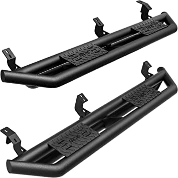 Black Nerf Bars Side Steps Running Boards for 2005-2018 Toyota Tacoma Double Cab