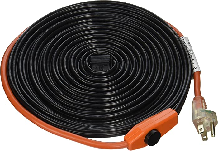 Frost King HC30A Heating Cables, 30 Feet, Black
