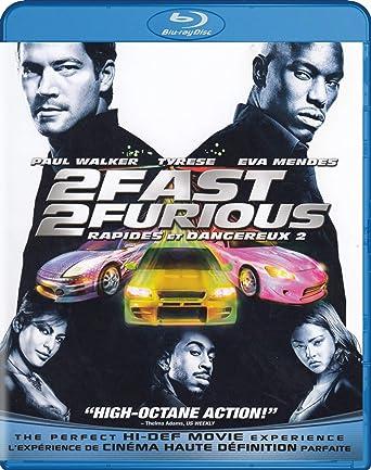 2 Fast Furious Blu Ray