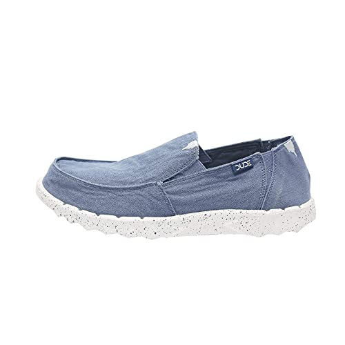 Dude Shoes Männer Es Fig Gewaschenen Stahlblau