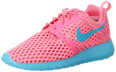 new arrival b1a60 00730 Nike Roshe One Flight Weight Athletic Gradeschool Girl's Shoes Size