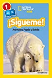 National Geographic Readers: Sigueme! (Follow Me!): Animales Papas Y Bebes (Libros de National Geographic para ninos / National Geographic Kids Readers)