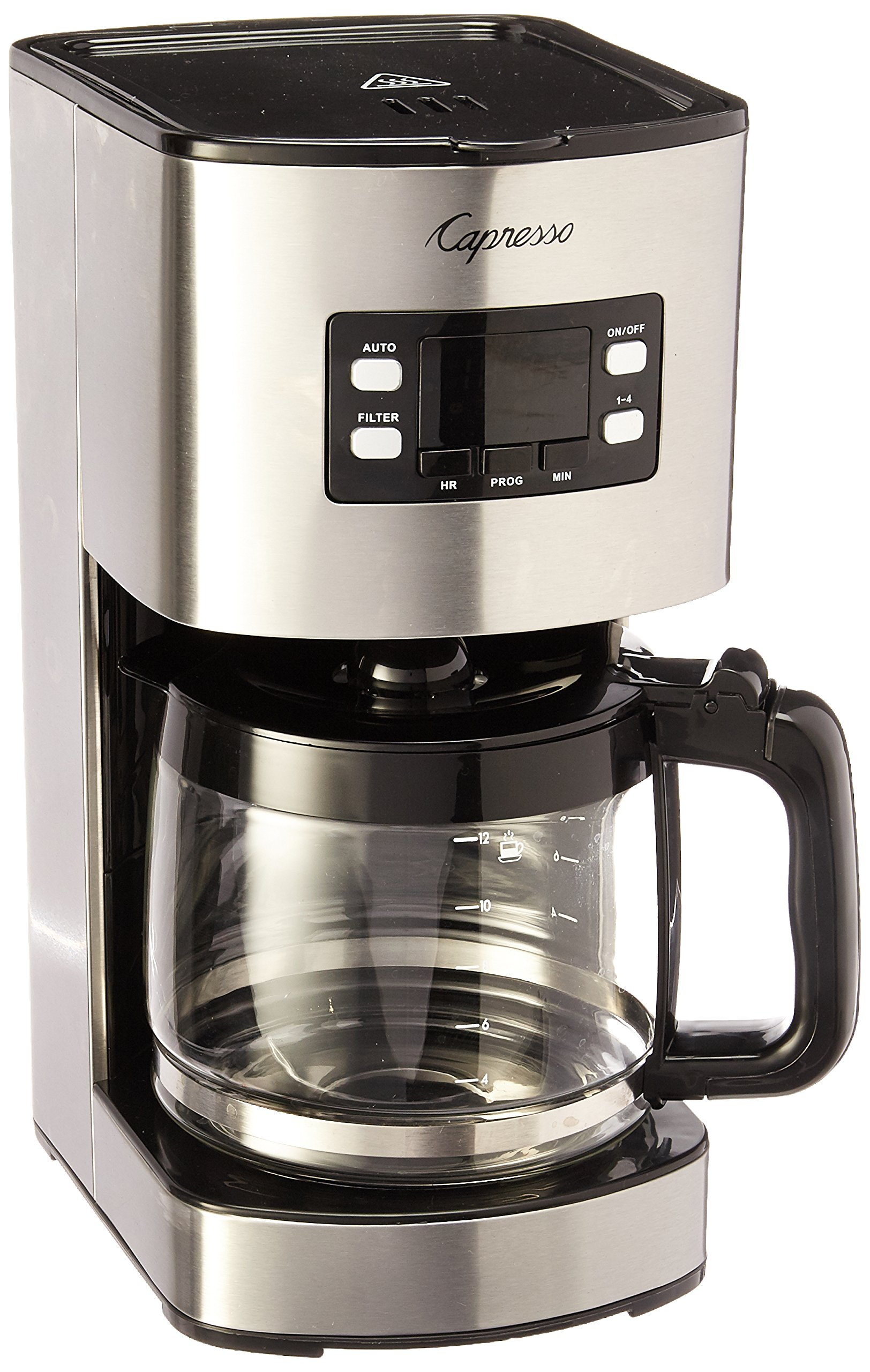 Capresso 434.05 12 Cup Coffee Maker SG300, Stainless Steel by Capresso