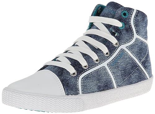 Geox J SMART BOY D - zapatillas deportivas altas de lona niño: Amazon.es: Zapatos y complementos