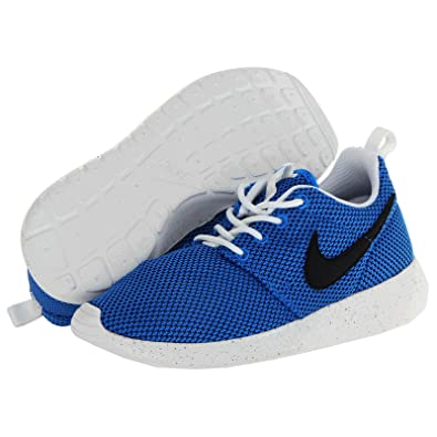oqkdf Nike Roshe Run GS Blue Kids Trainers Size 4 UK: Amazon.co.uk