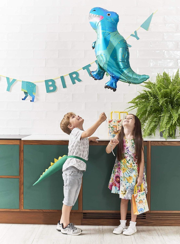 Talking Tables Dino Party Dinosaurs Happy Birthday Garland 3.5M Papier Mehrfarbig