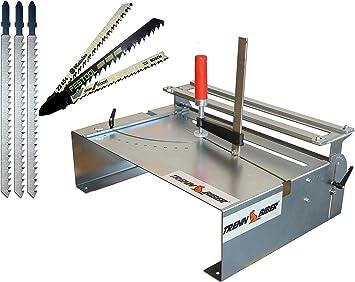 Bosch 014H - Juego de mesa para sierra de calar (incluye 3 hojas ...