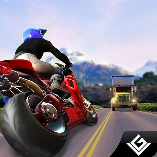 Extreme Traffic Bike Rider Racing & Drifting 3D: Crazy Heavy Bike Racer Stunts Freestyle Motocross Games Free For Kids 2018