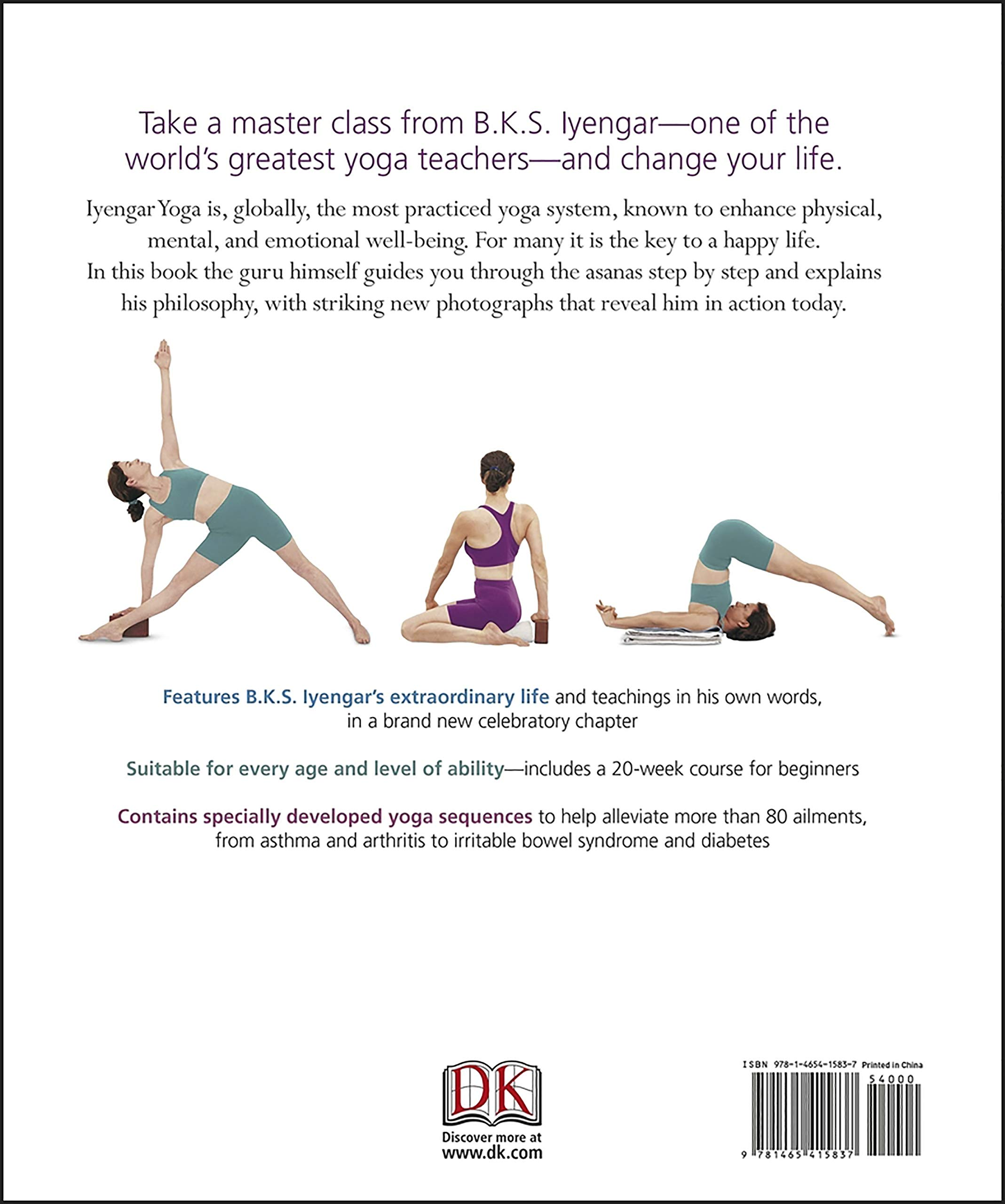 B.K.S. Iyengar Yoga: The Path to Holistic Health: Amazon.es ...
