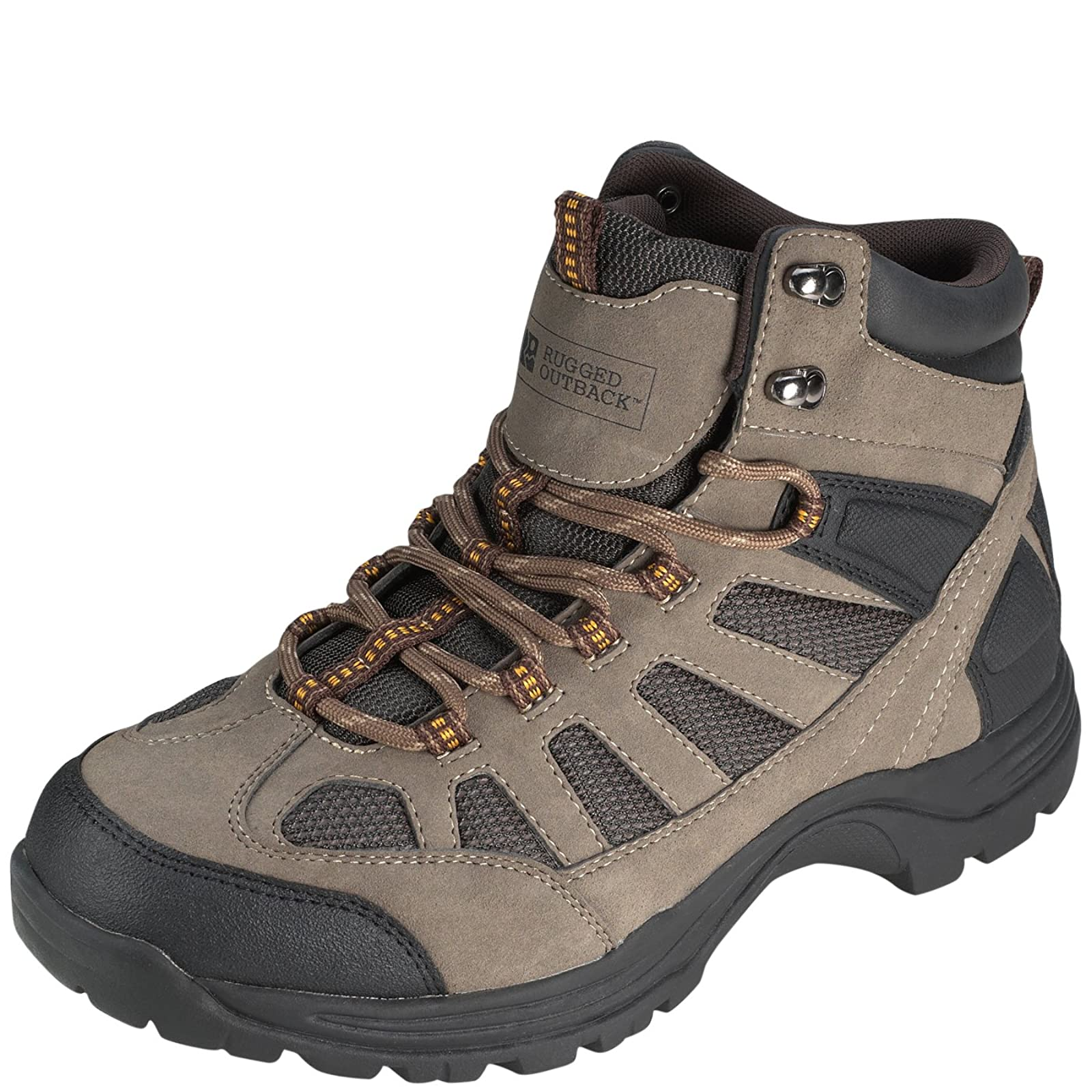 Rugged Outback Men's Ridge Mid Hiker Small - 4