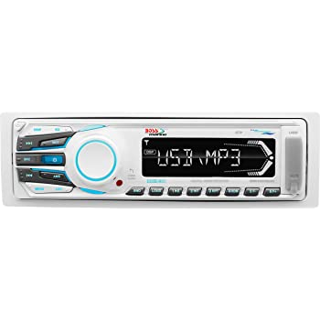 amazon com boss audio mr648s marine single din cd  mp3