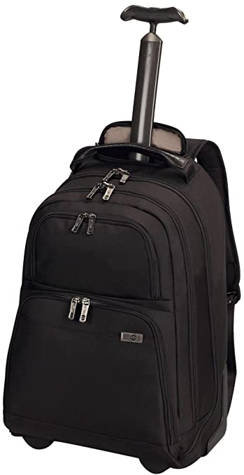 Victorinox Big Ben Mono Retrax Wheeled Black Laptop Backpack ...