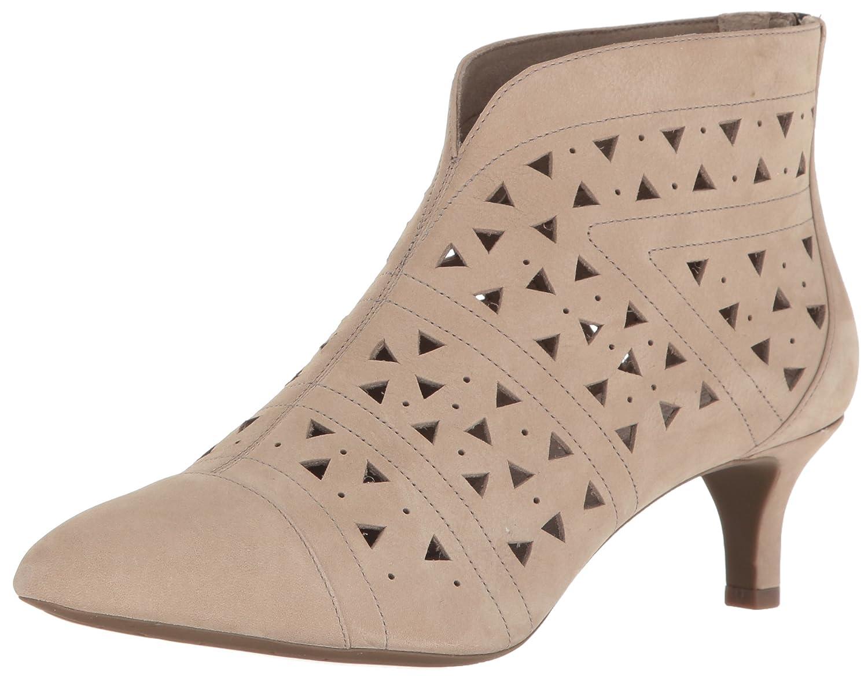 Rockport Women's Total Motion Kalila Perf Shootie Fashion Boot B01JU4772K 8 B(M) US|Vintage Khaki Nubuck