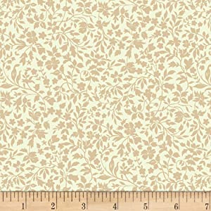 Michael Miller Provencial Provencial Vine Cream Quilt Fabric By The Yard