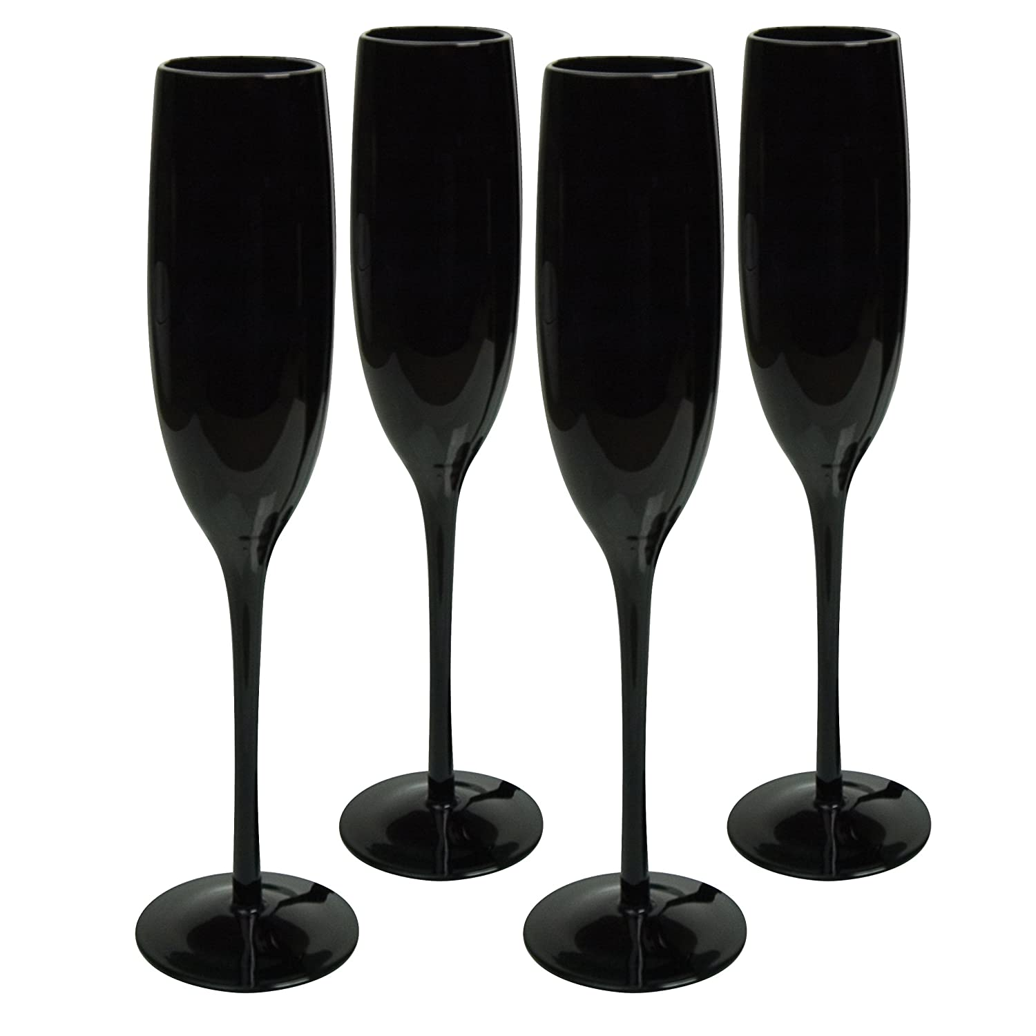 Set of 4 Artland Midnight Rouge Stemless Tall